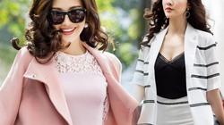 Mỹ nữ có làn da đẹp nhất Hoa hậu Việt Nam hút hồn trên phố