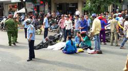 Người thân gào khóc bên thi thể nạn nhân sau tai nạn