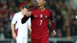 Lập cú đúp trước Latvia, Ronaldo tạo nên kỷ lục mới