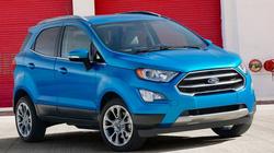 Ford EcoSport 2018 lộ diện, đẹp mắt và hiện đại hơn
