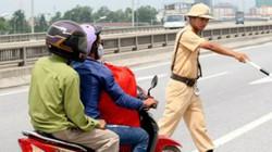 Từ 2017, người đi xe máy không sang tên đổi chủ sẽ bị phạt