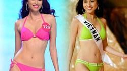 Đọ sắc bikini nóng bỏng của 2 Hoa hậu hoàn vũ Việt Nam