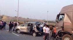 Tai nạn thảm khốc trên cao tốc: Biển báo chỉ đường quá nhỏ?
