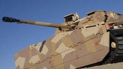 Xe thiết giáp tự khôi phục hình dạng sau khi dính mìn