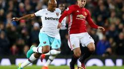 Bị West Ham cầm hoà, M.U lập kỷ lục siêu tệ