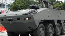 Giữ 9 xe bọc thép Singapore, TQ thu thập bí mật quân sự?
