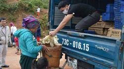 Gần 2.000 ngan giống hỗ trợ bà con miền Trung hậu lũ
