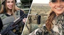 Nhan sắc 'chết người' của những nữ chiến binh Ukraine