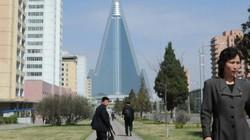 """Triều Tiên hồi sinh khách sạn """"khủng"""" nhất thế giới?"""