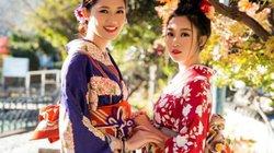 Mỹ Linh, Thanh Tú mặc Kimono đẹp hơn cả gái Nhật