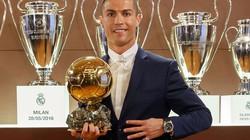 Ronaldo nói gì khi giành Quả bóng Vàng 2016?