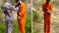 IS quấn bom quanh cổ tù nhân để hành quyết