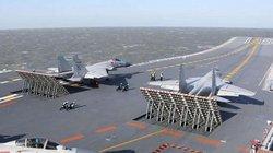 Trung Quốc lần đầu cho tàu sân bay Liêu Ninh tập trận phóng tên lửa