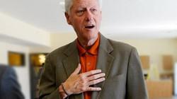 Cựu Tổng thống Mỹ Bill Clinton gầy gò đáng sợ?