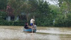Quảng Nam: Chìm ghe, nước lũ cuốn một thanh niên mất tích
