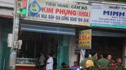 Bịt mặt, nổ súng cướp tiệm vàng rúng động ở Tây Ninh