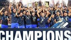 Chùm ảnh Thái Lan vỡ òa khi vô địch AFF Cup 2016