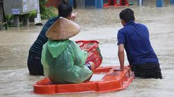 Người chết vì lũ tăng vọt, mưa ngớt, dân lại lo thủy điện xả nước