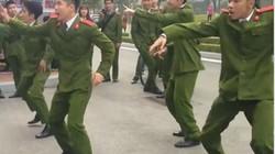 """Clip nam sinh Học viện Cảnh sát nhân dân nhảy đẹp """"đốn tim"""" chị em"""