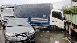 Tai nạn liên hoàn trên quốc lộ 1, giao thông tê liệt nhiều giờ