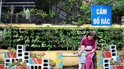 Sinh viên biến bãi rác thành vườn hoa tuyệt đẹp ở Hà Nội