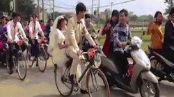 """Tiết lộ bất ngờ về màn rước dâu bằng """"dàn ngựa sắt Thống Nhất"""" ở Hà Nội"""