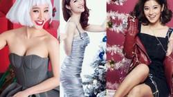 Hút mắt với những hình ảnh lộng lẫy của sao Việt đón Giáng sinh