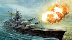 """Trận hải chiến đánh chìm chiến hạm """"khủng"""" nhất của Đức"""