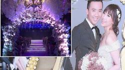 Cận cảnh tiệc cưới cổ tích 2 tỷ đồng của Trấn Thành - Hari
