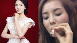 Hoa hậu Kỳ Duyên lộ ảnh hút thuốc, thói quen khó bỏ hay bị chơi xấu?