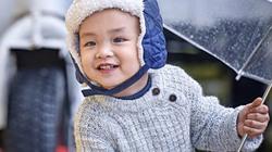 Cận cảnh vẻ đáng yêu của con trai Diễm Hương