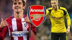 """Top 10 ngôi sao có thể gia nhập Arsenal ở """"phiên chợ Đông"""""""