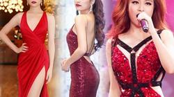"""Hoàng Thùy Linh hóa nữ thần với loạt váy áo đỏ """"rực lửa"""""""