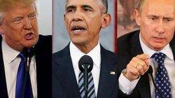 """Trừng phạt Nga, Obama đồng thời """"dằn mặt"""" cả Putin lẫn Trump"""