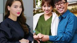 Hà Hồ đóng phim hài Tết cùng vợ Trấn Thành