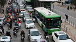 Toàn cảnh ma trận giao thông nơi xe buýt nhanh đi qua