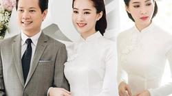Hoa hậu Thu Thảo đẹp tựa tiên nữ trong lễ ăn hỏi bí mật
