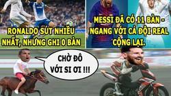 """HẬU TRƯỜNG (2.10): Messi cho Ronaldo """"ngửi khói"""", Wenger quá khôn khéo"""