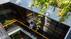 Nhà ống 4 tầng mà đẹp như resort nhờ cây xanh mọc khắp nhà