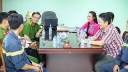 Hoa hậu châu Á Kim Nguyễn thăm hỏi động viên lực lượng PCCC TP.HCM