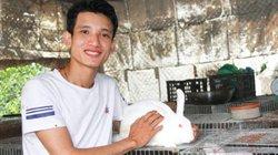 Làm giàu ở nông thôn: Dùng 3 triệu nuôi thỏ, bỏ túi 200 triệu/năm