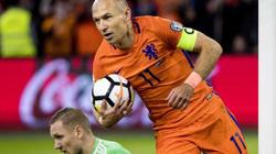 """Clip: Robben lập cú đúp, Hà Lan vẫn làm """"khán giả"""" ở World Cup 2018"""