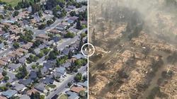 Thảm họa cháy rừng California giống như bom hạt nhân