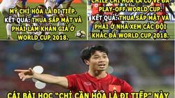 """HẬU TRƯỜNG (11.10): Chile còn phải học Việt Nam nhiều, Ronaldo trở thành """"quả tạ"""""""