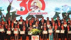 Vinh danh 87 nông dân Việt Nam xuất sắc 30 năm Đổi Mới