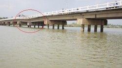 Cầu lún gần nửa mét ở Quảng Nam