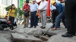 Siêu máy bơm chống ngập đường Nguyễn Hữu Cảnh lại vận hành