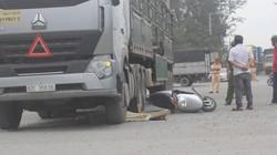 TP.HCM: Va chạm với xe tải, người đàn ông chết thảm dưới bánh xe