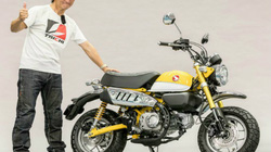 Honda Monkey 125 mới khiến phái mạnh lạc lối về