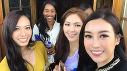 Hành động đẹp Đỗ Mỹ Linh được lòng ở Miss World giữa ồn ào Huyền My